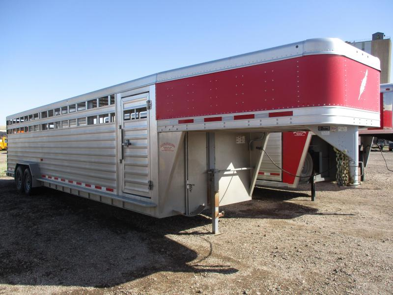 2014 Featherlite Stock Livestock Trailer