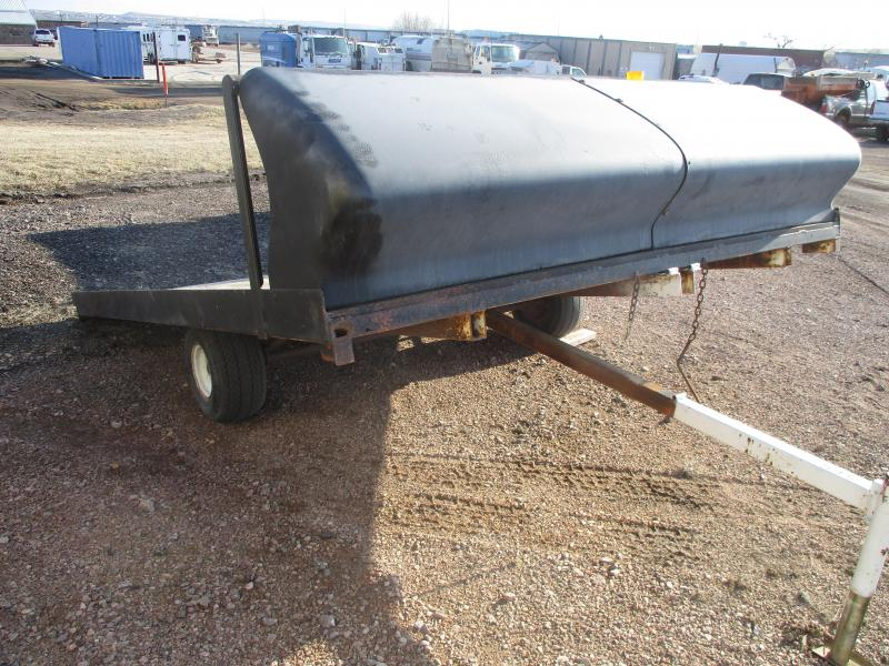1992 Road Pro Sled Trailer Flatbed Trailer