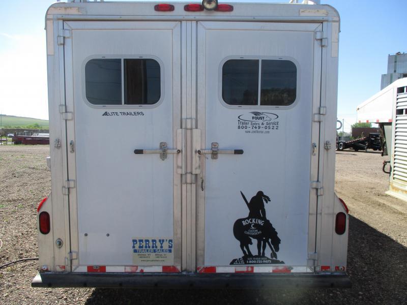 2000 Elite Trailers 4 horse Horse Trailer