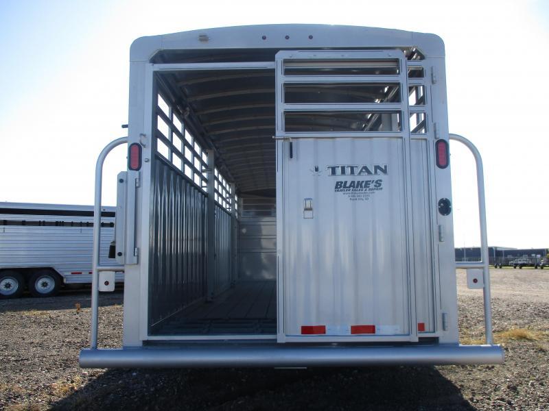 2021 Titan Trailers Ranchero Livestock Trailer