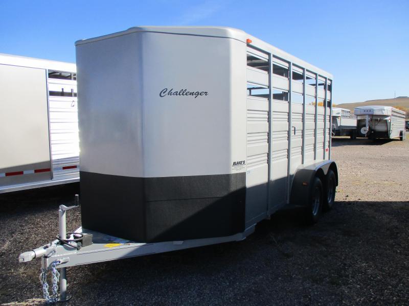 2021 Titan Trailers Challenger Livestock Trailer 6'8 X 14