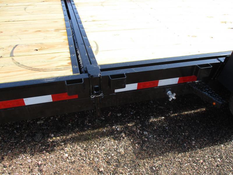 2021 H and H Trailer Tilt bed Flatbed Trailer