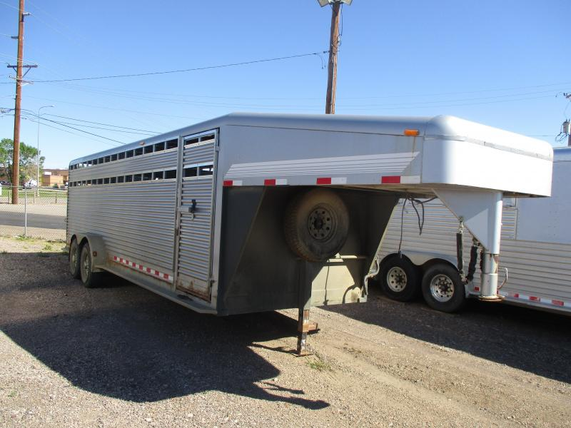 2004 Featherlite Stock Livestock Trailer