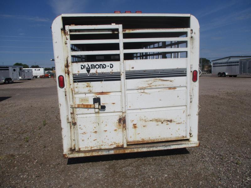 1988 Diamond D Stock Livestock Trailer 7 X 20