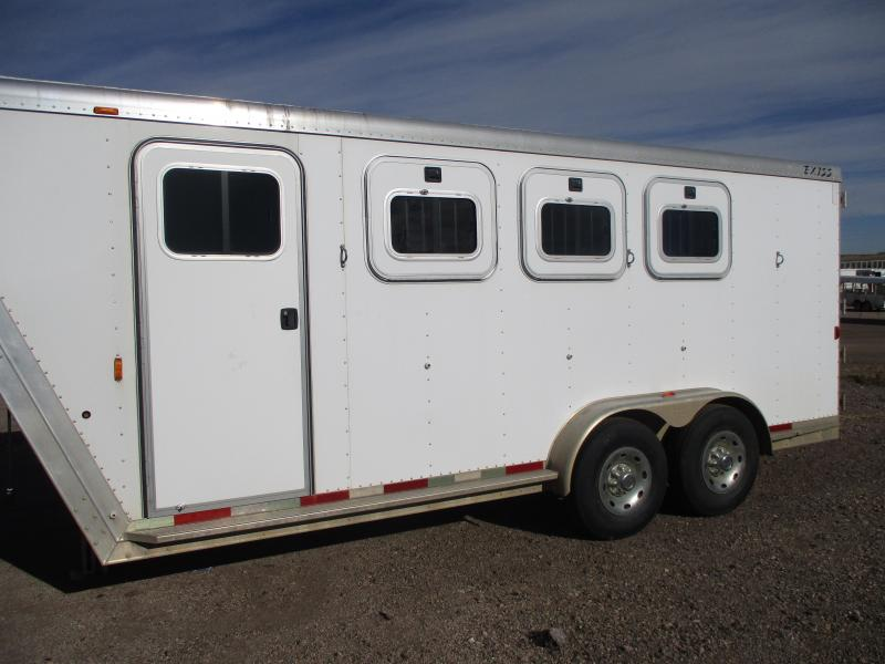 2004 Exiss Trailers 3 Horse Horse Trailer