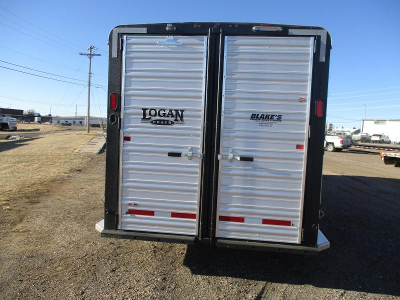 2021 Logan Coach Stock Combo Livestock Trailer