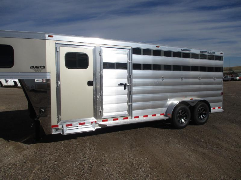2021 Twister Stock Combo Livestock Trailer