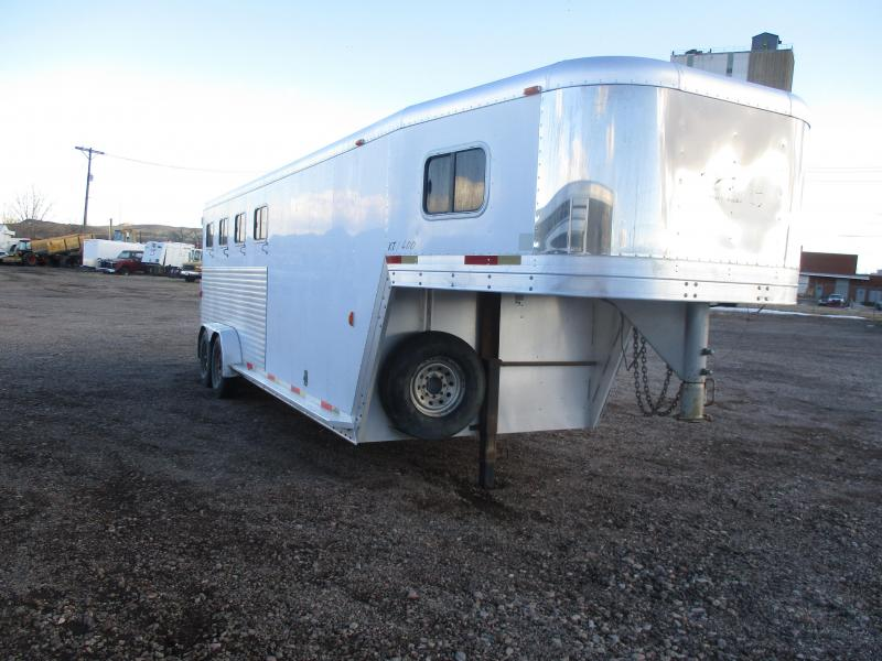 2001 Exiss Trailers 4 horse Horse Trailer