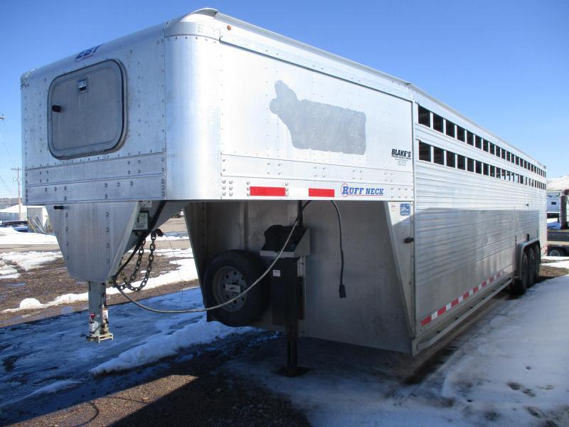 2018 EBY Ruffneck Livestock Trailer