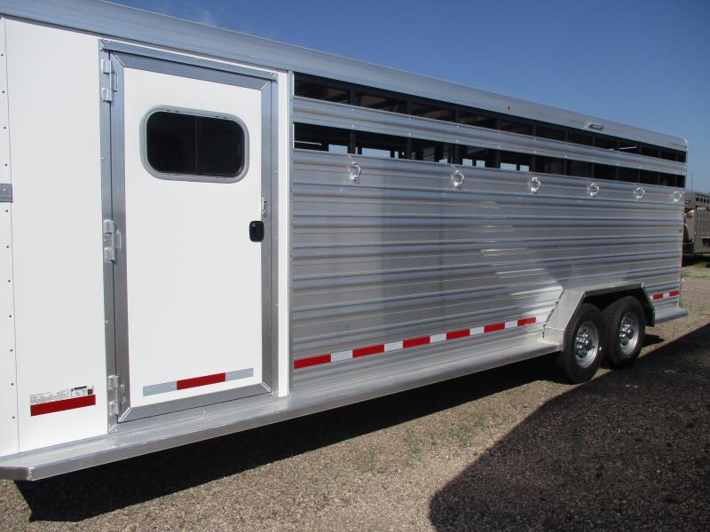 2020 Logan Coach Stock Combo Livestock Trailer