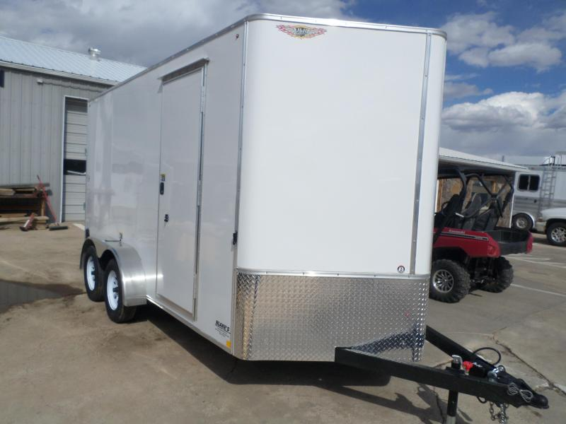 2021 H and H Trailer Cargo Enclosed Cargo Trailer 7 X 14
