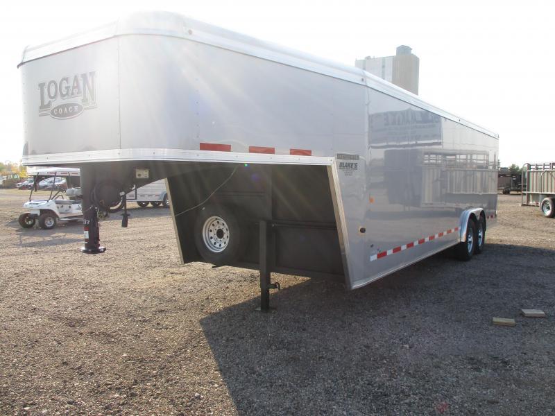 2021 Logan Coach Contractor Enclosed Cargo Trailer