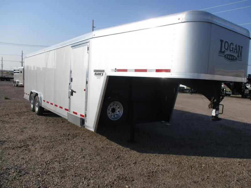 2021 Logan Coach Contractor Enclosed Cargo Trailer