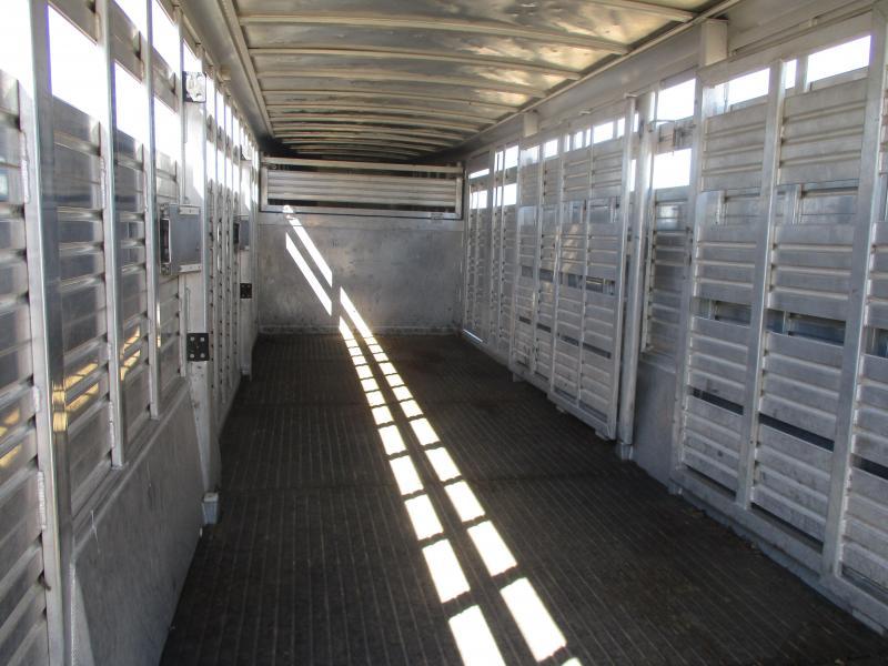 2005 Featherlite Stock Livestock Trailer 7 X 24