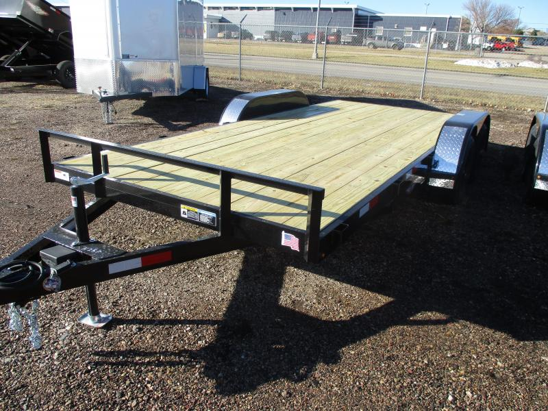 2021 H and H Trailer Flatbed Flatbed Trailer