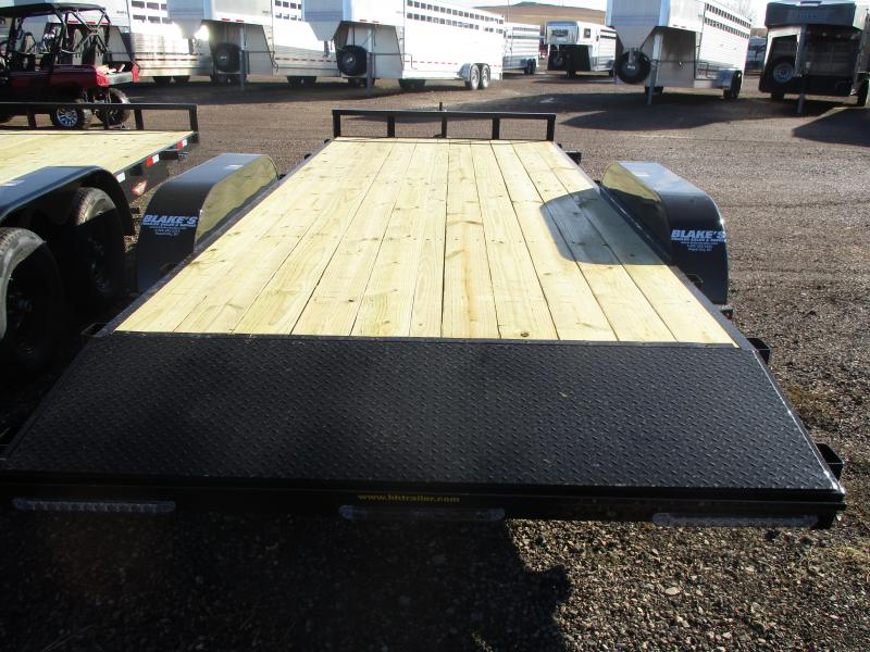2021 H and H Trailer Utility Flatbed Trailer