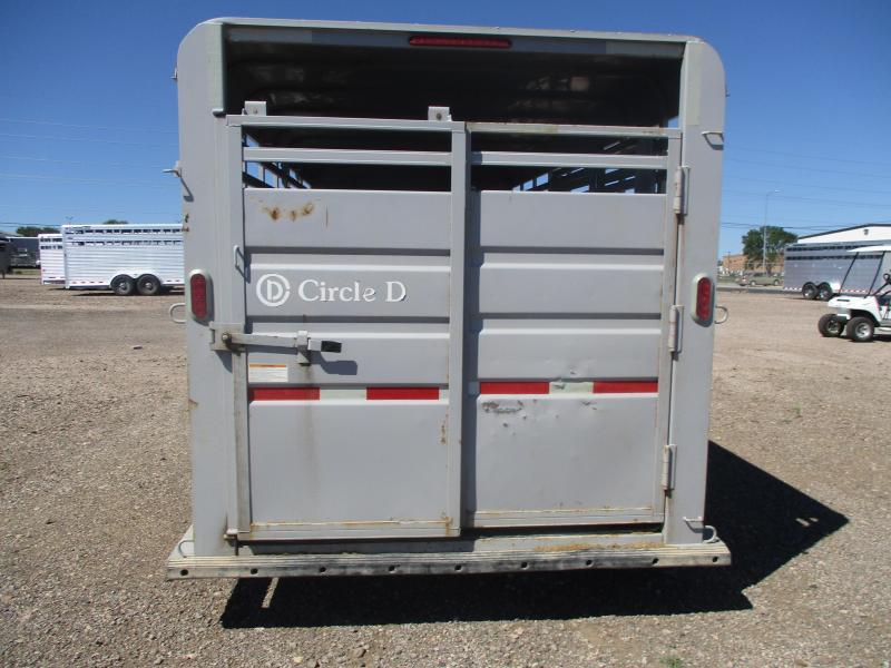 2015 Circle D Stock Combo Livestock Trailer