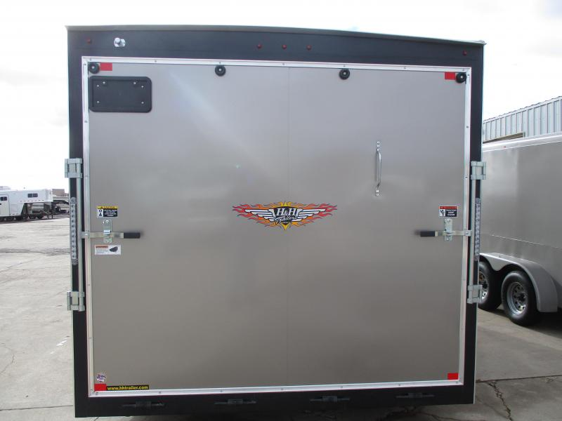 2021 H and H Trailer Cargo Enclosed Cargo Trailer 101 X 20