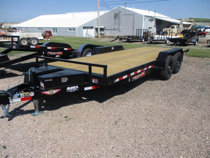 2021 H and H Trailer Speedloader Flatbed Trailer