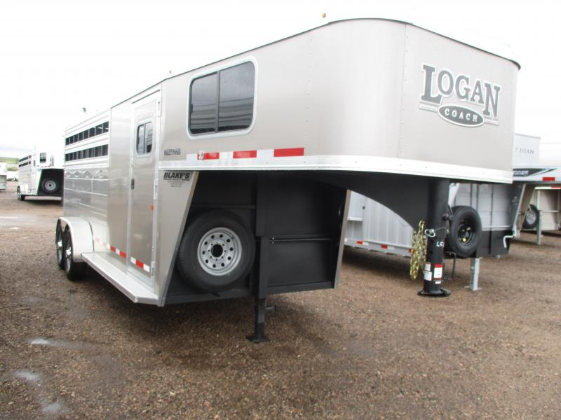 2020 Logan Coach Bullseye Livestock Trailer