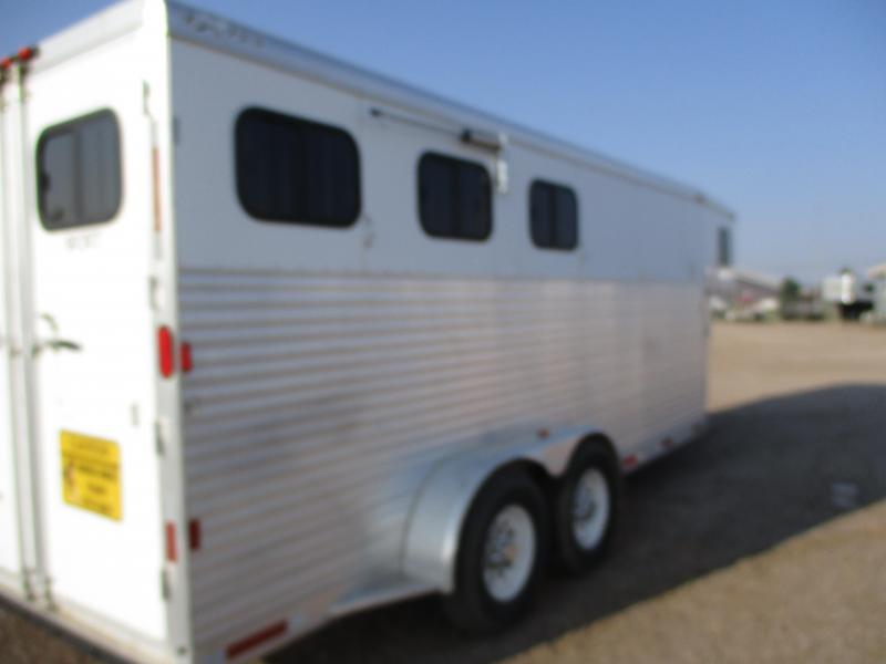 2006 Exiss Trailers 3 Horse Livestock Trailer