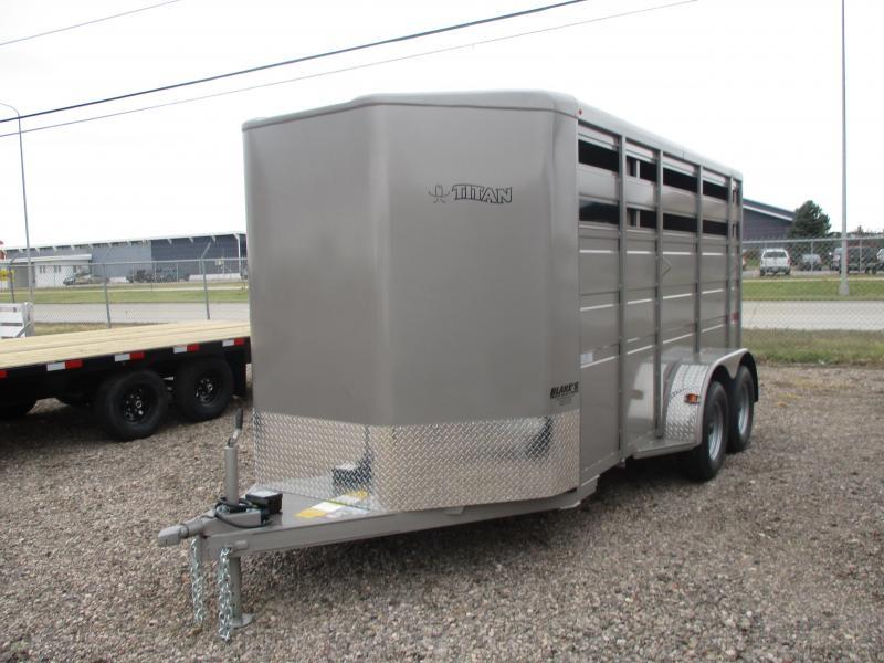2021 Titan Trailers Primo Livestock Trailer