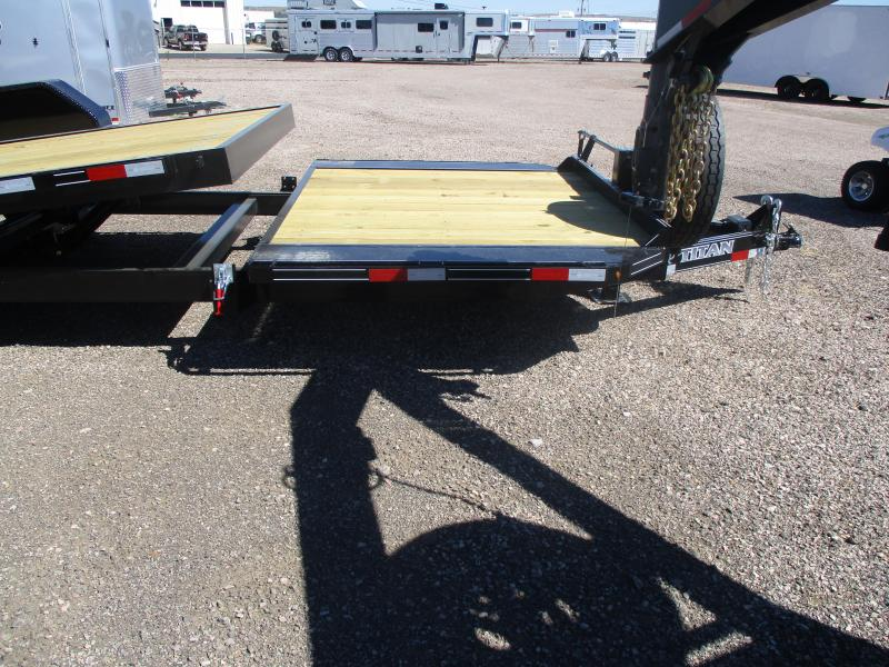 2021 Titan Trailers Tilt Bed Flatbed Trailer