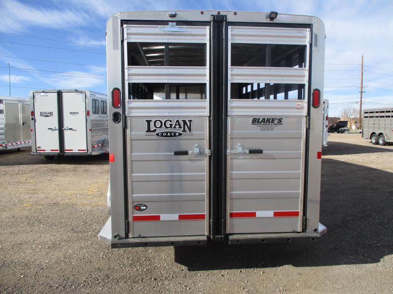 2021 Logan Coach Bullseye Livestock Trailer