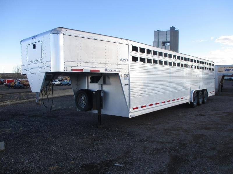 2019 EBY Ruffneck Livestock Trailer