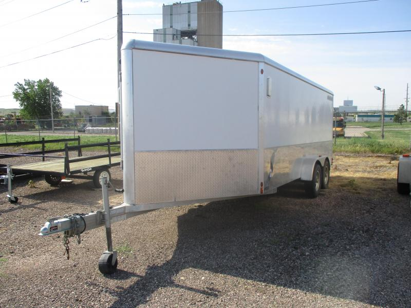 2011 Aluma Cargo Enclosed Cargo Trailer 7 X 16