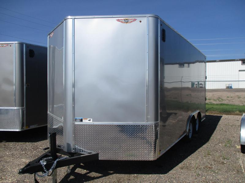 2021 H and H Trailer Cargo Enclosed Cargo Trailer 101 X 16