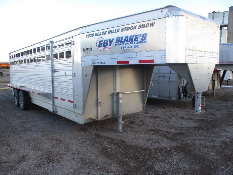 2019 EBY Maverick Livestock Trailer