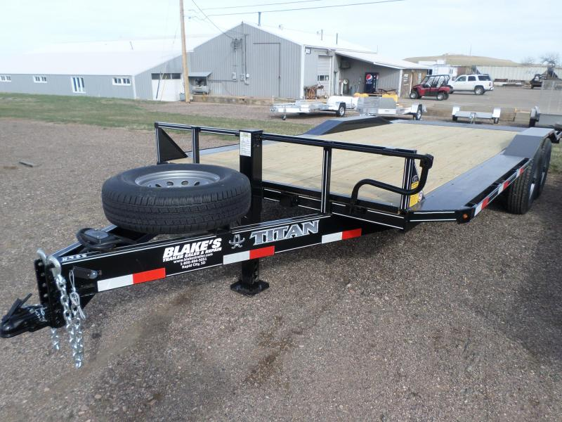 2020 Titan Trailers Flatbed Flatbed Trailer 8'6 X 20