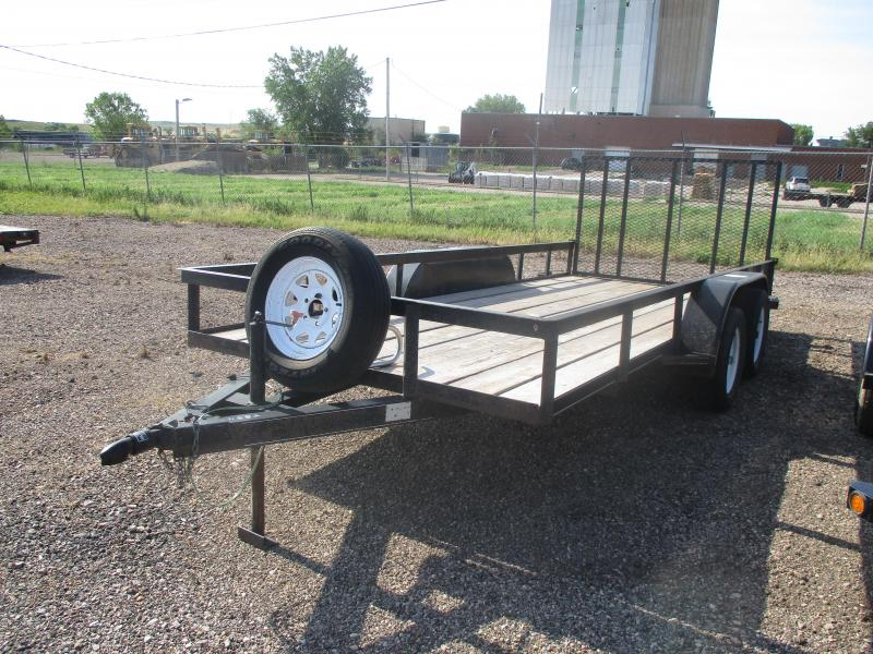 2003 Extreme Manufacturing Utility Utility Trailer 76 X 16