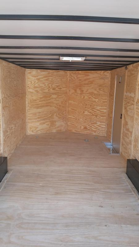 8.5 x 16   8' Interior Height  3500lb Axles