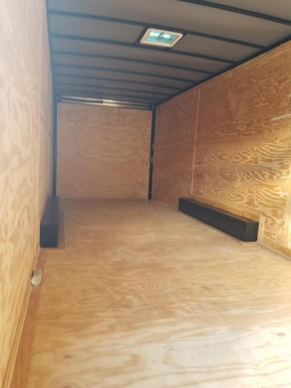 24 Spread Enclosed Cargo Trailer