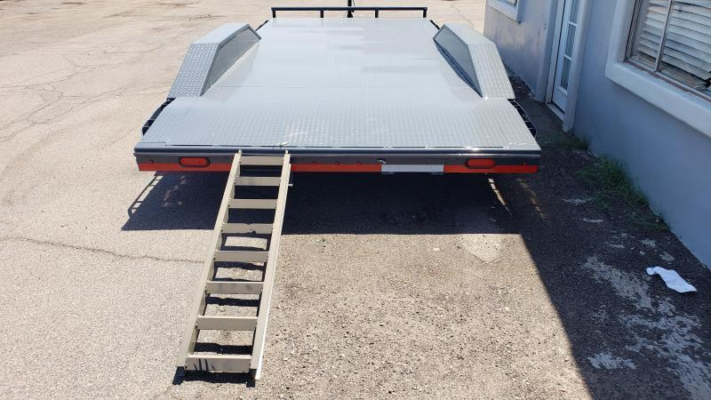 2021 Lamar Trailers CC-5.2k-20' Car / Open Car Trailers-Steel deck- Drive Over Fenders- D-rings-**cash discounts available** see below