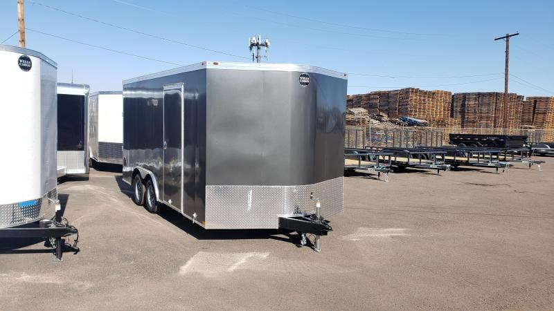 2020 Wells Cargo 8.5x16ft Road Force Enclosed Cargo Trailer