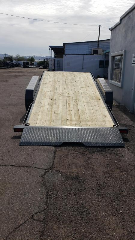 2021 Lamar  20' Tilt Deck Split Tilt Equipment Trailer- 14000# GVWR -