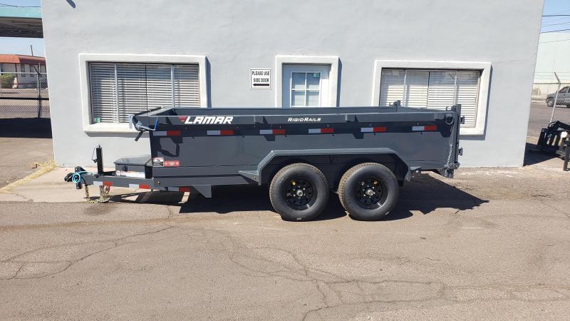 "2021 Lamar Dump Trailer for sale-Medium duty dumper- #9990 GVWR- Tarp-Ramps -battery charger -18"" sides *** Cash Discounts - SEE BELOW***"
