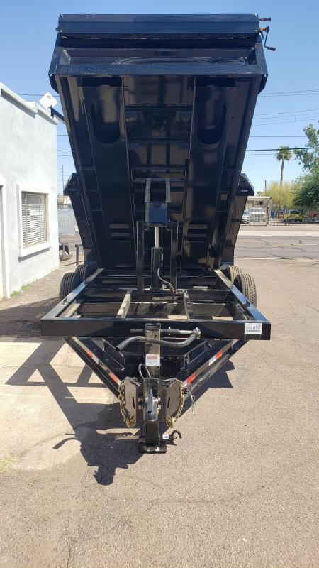 "2020 Ironbull  Dump Trailer 83"" x 14'- 6"" I-beam Frame- 14000# GVWR- Rear support stands-spreader gate-7 Gauge floor- free spare- **cash discounts** see below"