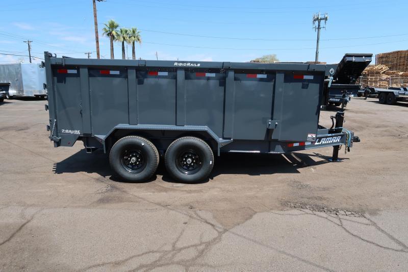 2021 Lamar Trailers DL-7k-14 Dump Trailer- 12 inch cross pieces-7 gauge floor-  4 ft sides-***Cash Discounts Available - See Below**