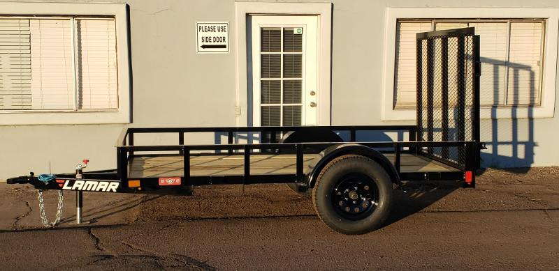 2021 5' x 10' Utility Trailer-2990# GVWR- Pipe Top-  4' spring assist gate   ***CASH DISCOUNT- SEE BELOW***