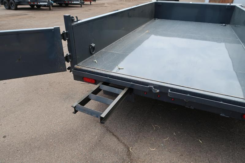2021 Lamar Trailers DL-7k-12 Dump Trailer -14000# GVWR- Tarp Included- Ramps included-  **Cash Discounts available** See below