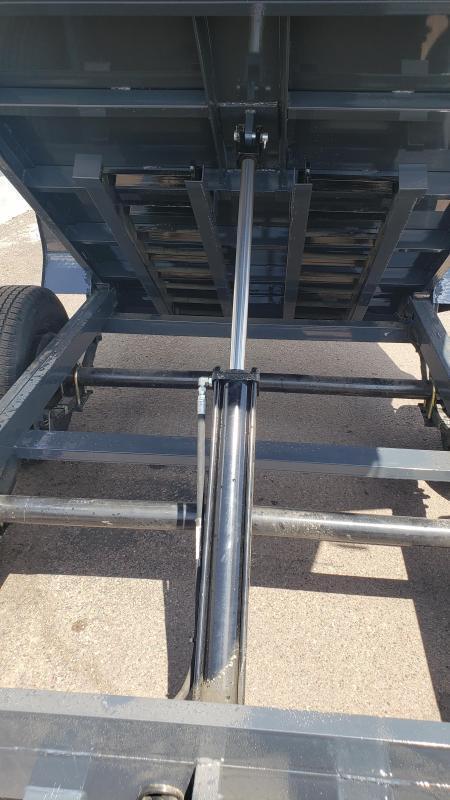 Lamar Mini Dump Trailer 5x10 10k GVWR Ramps Deluxe Tarp Kit Adj Coupler