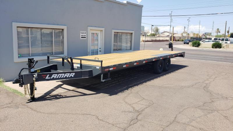 2020 Lamar Medium Deck-Over (F8)  GVWR 14000# GVWR Flatbed Trailer- ** Cash Discounts***  See below