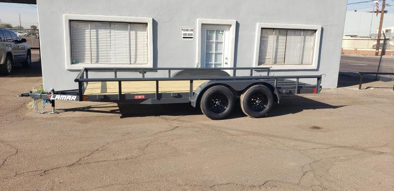 2021 7' x 16' Utility Channel Frame Trailer- 7000# GVWR- Pipe Top-  4' spring assist gate   ***CASH DISCOUNT- SEE BELOW***