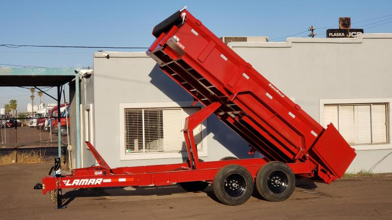 2021 Lamar Trailers 14 Dump Trailer 14000 GVWR Tarp Included Ramps included -Cash Discounts available See below