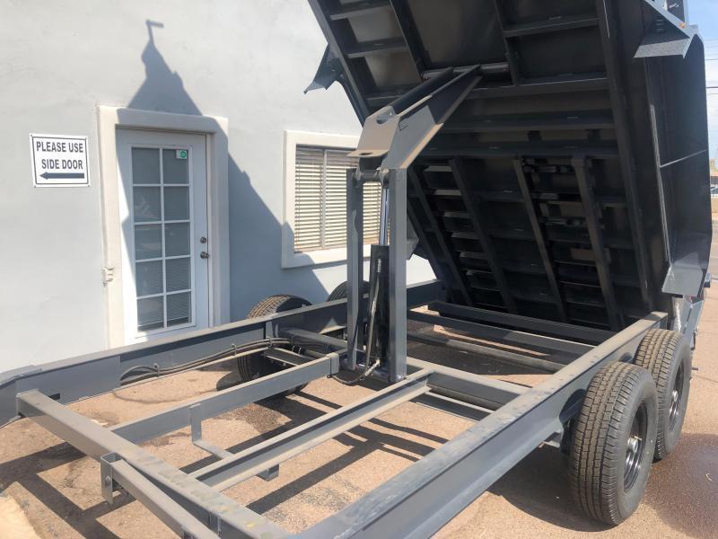 2021 Lamar Trailers DL-7k-16 Dump Trailer for sale-14000# GVWR - spreader gate- scissor lift- tarp- ramps-  ***cash discounts.   See Below