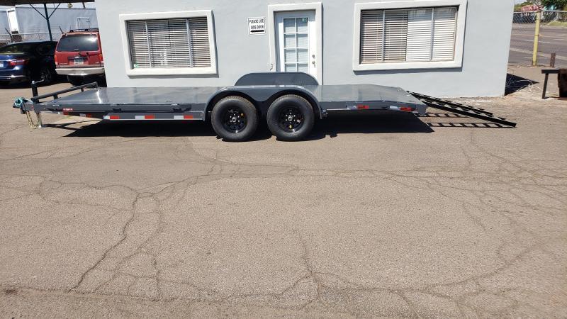 2021 Lamar Trailers CC-5.2k-20' Car / Open Car Trailers-Steel deck- D-rings-powder coat finish**cash discounts available** see below